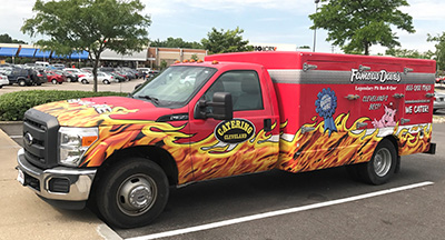 North Olmsted Location: BBQ Food & Catering | Famous Dave's Cleveland - Truck