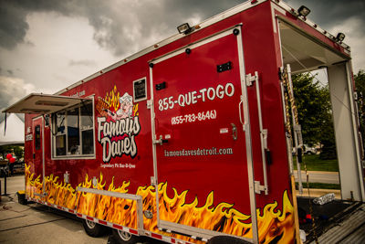 Barbecue Catering Services near Cleveland & North Olmsted | Famous Dave's - catering-battle-wagon-2