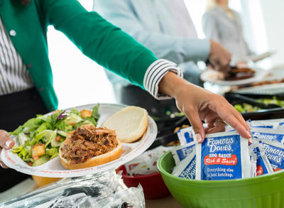 FREE Catering Quote: BBQ Caterers in Cleveland | Famous Dave's - corporate-catering-buffet-2
