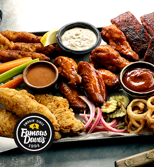 Award-Winning BBQ Cleveland: Restaurant & Catering | Famous Dave's - home